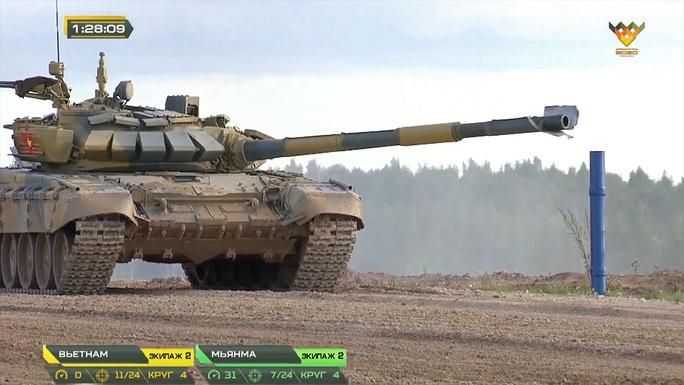 Thua Myanmar, xe tăng Việt Nam vẫn mơ vé chung kết Army Games 2020 - Ảnh 3.