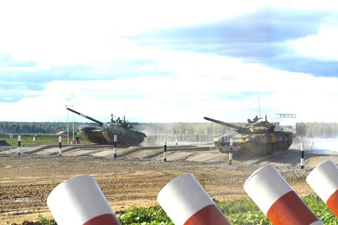 Thua Myanmar, xe tăng Việt Nam vẫn mơ vé chung kết Army Games 2020 - Ảnh 2.