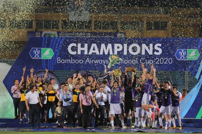 Cúp Quốc gia không tuột khỏi tay Hà Nội FC - Ảnh 1.