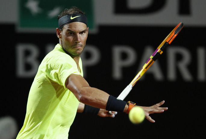Clip Nadal thua sốc, bị loại khỏi Rome Masters 2020 - Ảnh 2.