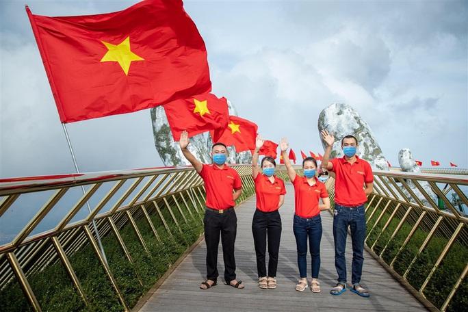 Khu du lịch Bà Nà Hills - Đà Nẵng mở cửa trở lại sau dịch Covid-19 - Ảnh 1.