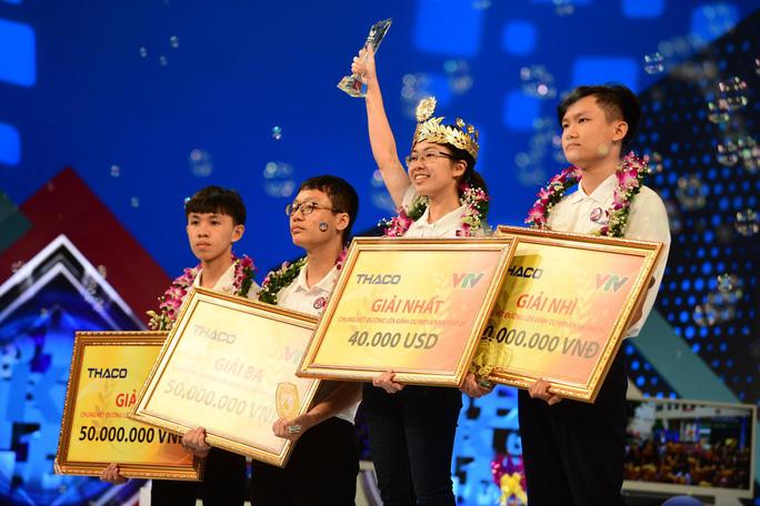 Nguyễn Thị Thu Hằng đăng quang Đường lên đỉnh Olympia 2020 - Ảnh 1.