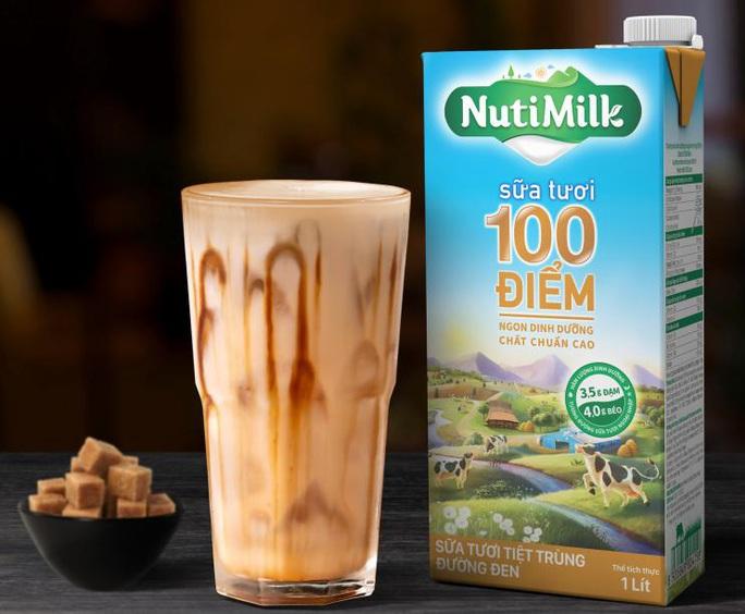 Sữa tươi chất lượng cao 100 điểm Nutimilk - Dấu ấn mới của Nutifood - Ảnh 1.