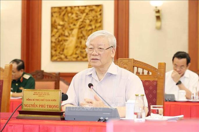 Tổng Bí thư, Chủ tịch nước Nguyễn Phú Trọng: Công an nhân dân Việt Nam là thanh kiếm và lá chắn  - Ảnh 1.