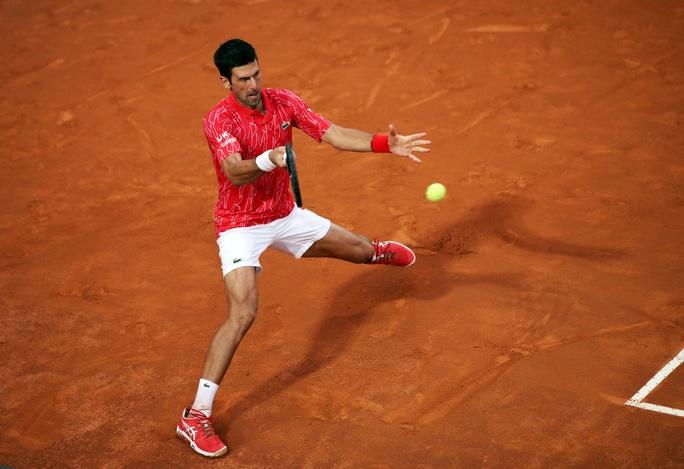Djokovic phá kỷ lục thế giới khi đăng quang Rome Masters 2020 - Ảnh 1.