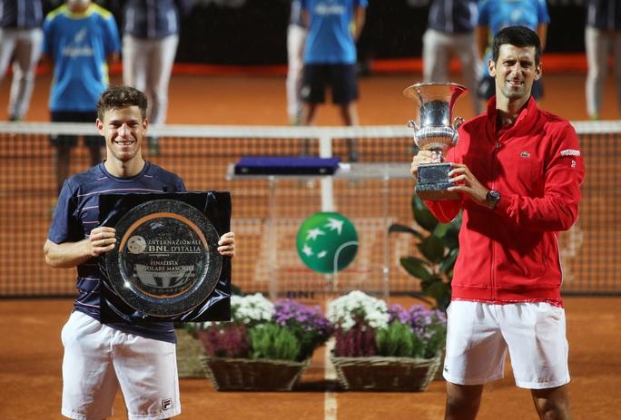 Djokovic phá kỷ lục thế giới khi đăng quang Rome Masters 2020 - Ảnh 5.