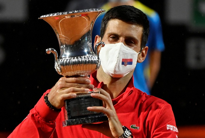 Djokovic phá kỷ lục thế giới khi đăng quang Rome Masters 2020 - Ảnh 7.