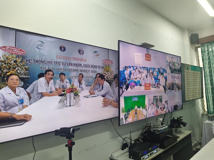 BV Bệnh Nhiệt đới TP HCM mở trung tâm hỗ trợ khẩn cấp 24/24 - Ảnh 4.