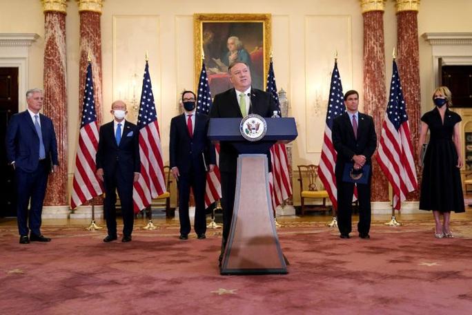 Ngoại trưởng Pompeo: Mỹ không cô lập trong vấn đề Iran - Ảnh 1.