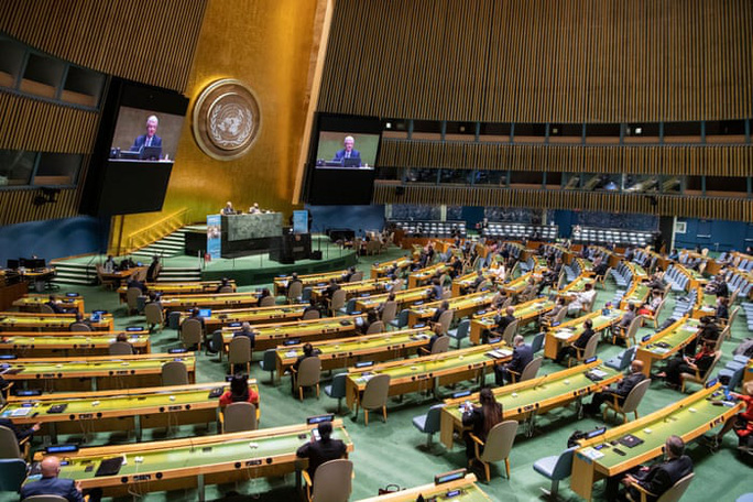 Phiên họp lạ chưa từng thấy của Liên Hiệp Quốc - Ảnh 6.