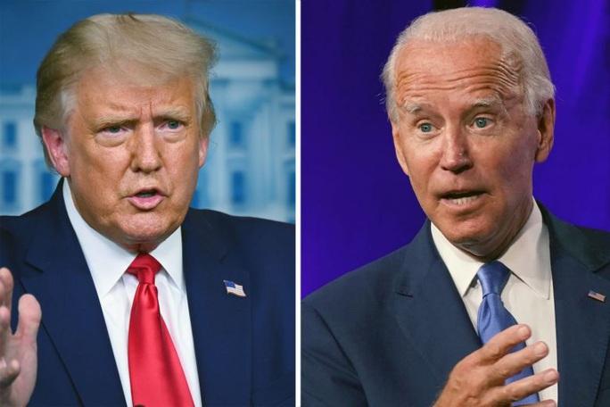 Bầu cử Mỹ: Tổng thống Trump và đối thủ Biden mài gươm so găng trực tiếp - Ảnh 2.