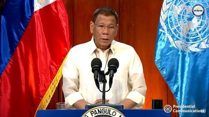 Tổng thống Philippines nhắc phán quyết biển Đông tại Liên Hiệp Quốc - Ảnh 1.