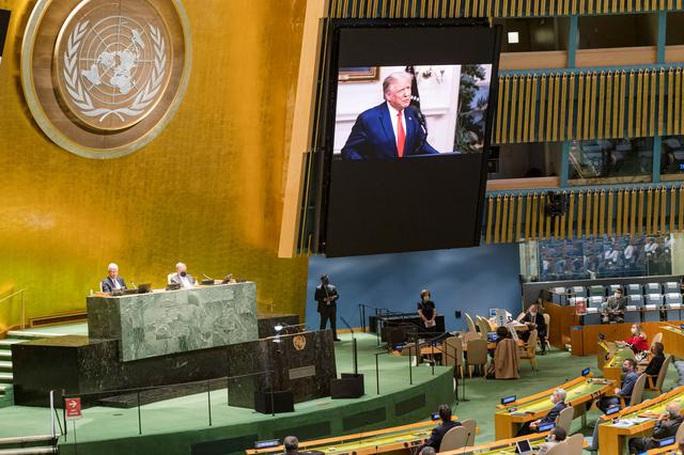 Trung Quốc nổi giận với phát biểu của Tổng thống Trump tại Liên Hiệp Quốc - Ảnh 2.