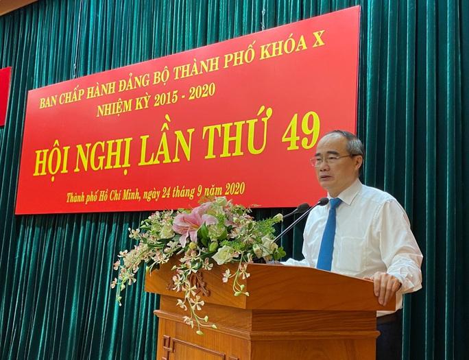 Khai mạc Hội nghị lần thứ 49 Ban Chấp hành Đảng bộ TP HCM khóa X - Ảnh 1.