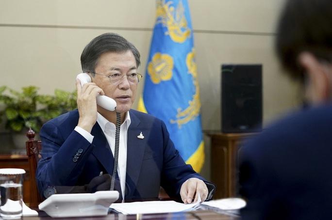 Cuộc điện đàm giúp hâm nóng quan hệ Nhật Bản - Hàn Quốc? - Ảnh 1.