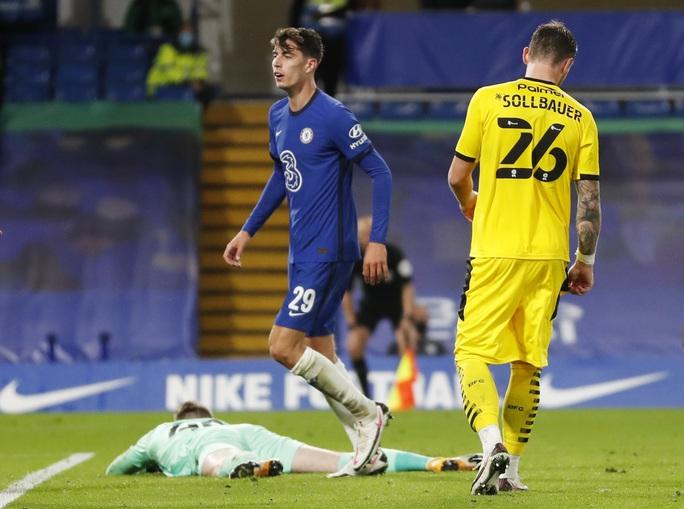 Bom tấn Kai Havertz lập hat-trick, Chelsea bùng nổ League Cup - Ảnh 3.