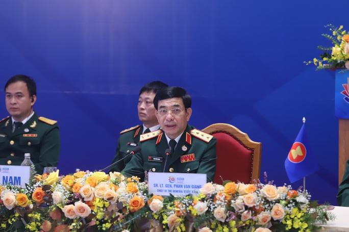 Việt Nam chủ trì hội nghị Tư lệnh quốc phòng ASEAN - Ảnh 3.