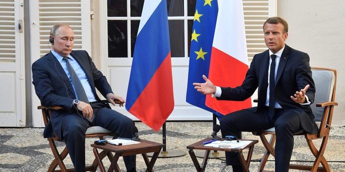 Tổng thống Putin nói gì với Tổng thống Macron về nghi án ông Navalny? - Ảnh 1.