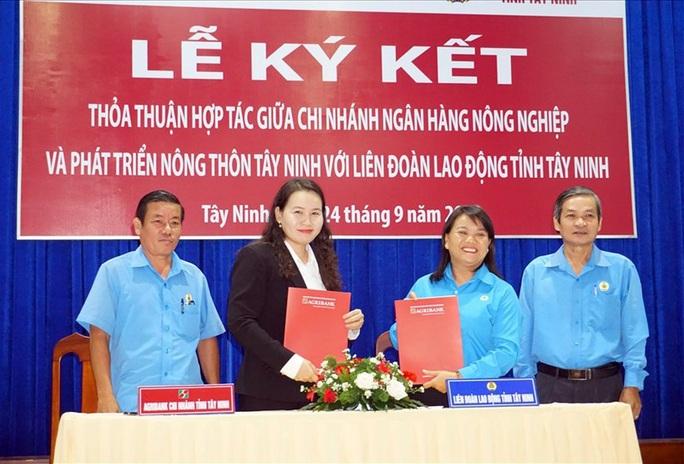 Tây Ninh: Hợp tác nâng phúc lợi đoàn viên - Ảnh 1.