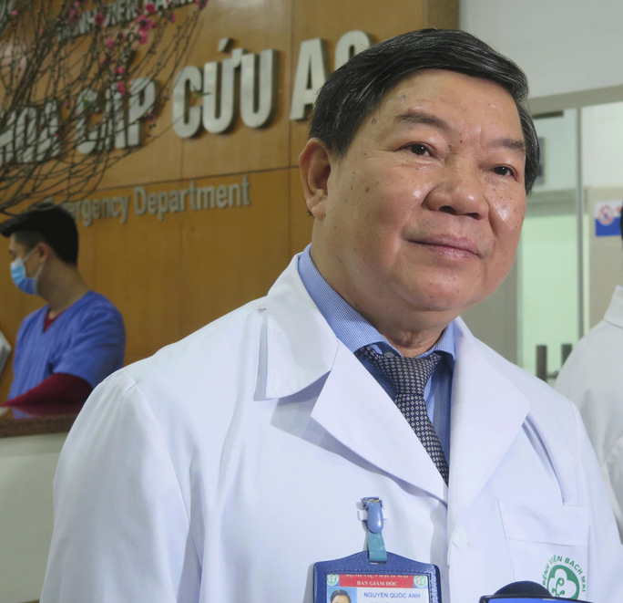 Bắt nguyên giám đốc Bệnh viện Bạch Mai Nguyễn Quốc Anh - Ảnh 1.