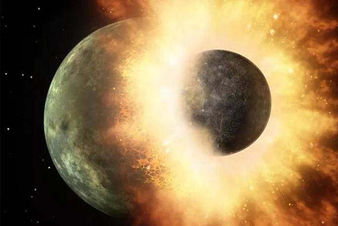 Dấu vết kinh ngạc về hành tinh cỡ Sao Hỏa đâm vào Trái Đất - Ảnh 1.