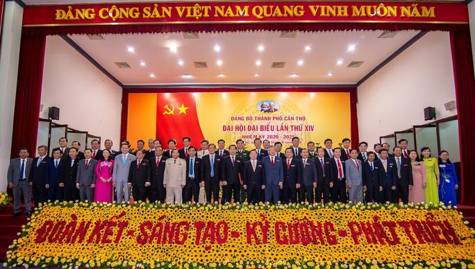 Chân dung 50 người trong Ban Chấp hành Đảng bộ Cần Thơ nhiệm kỳ mới - Ảnh 2.