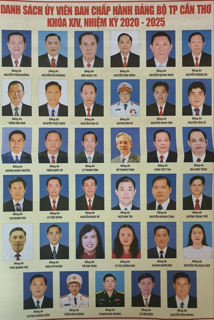 Chân dung 50 người trong Ban Chấp hành Đảng bộ Cần Thơ nhiệm kỳ mới - Ảnh 3.