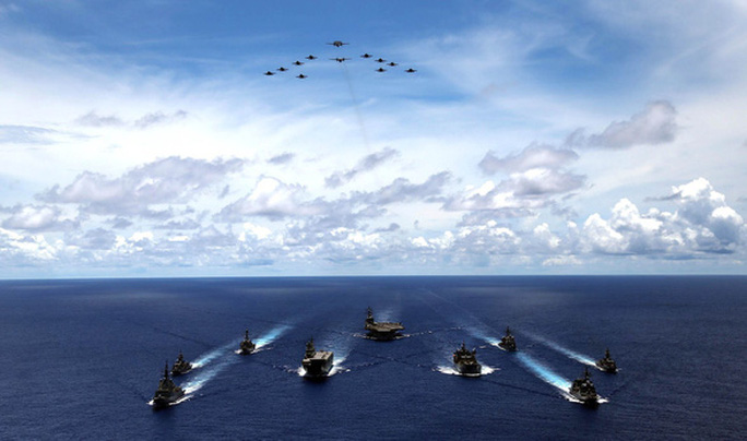 Nhật - Ấn tập trận lớn, gửi tín hiệu mạnh mẽ đến Trung Quốc - Ảnh 1.