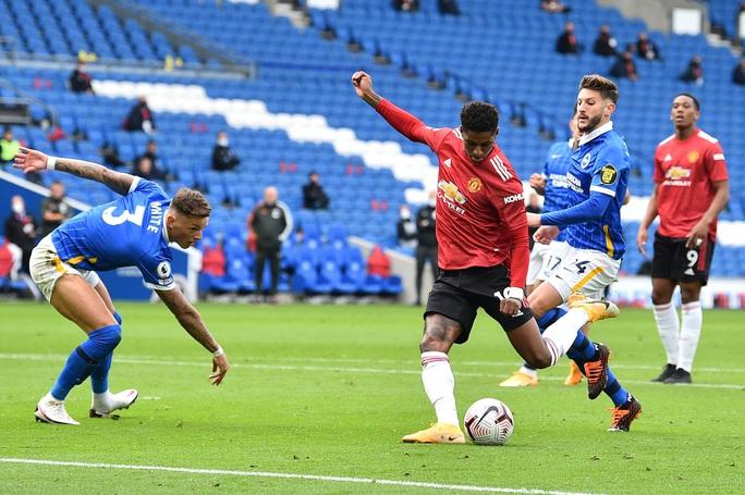 Hưởng phạt đền khi trận đấu đã kết thúc, Man United ngược dòng điên rồ trước Brighton - Ảnh 4.