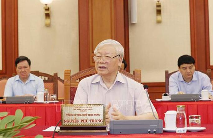 Bộ Chính trị hoàn thành chương trình làm việc với 67 Đảng bộ trực thuộc Trung ương - Ảnh 1.