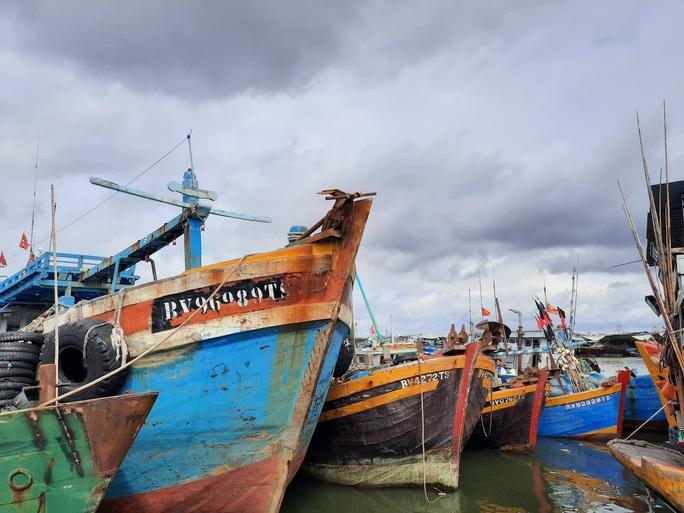 Cờ Tổ quốc đến với ngư dân huyện Long Điền - Ảnh 4.