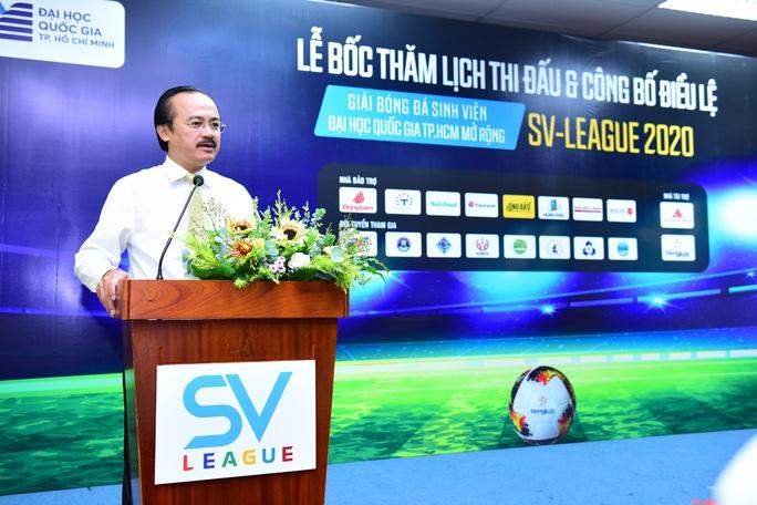 SV-League 2020: Cơ hội được tuyển thẳng Đại học Quốc gia TP HCM cho VĐV có năng khiếu bóng đá  - Ảnh 4.