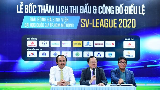 SV-League 2020: Cơ hội được tuyển thẳng Đại học Quốc gia TP HCM cho VĐV có năng khiếu bóng đá  - Ảnh 2.