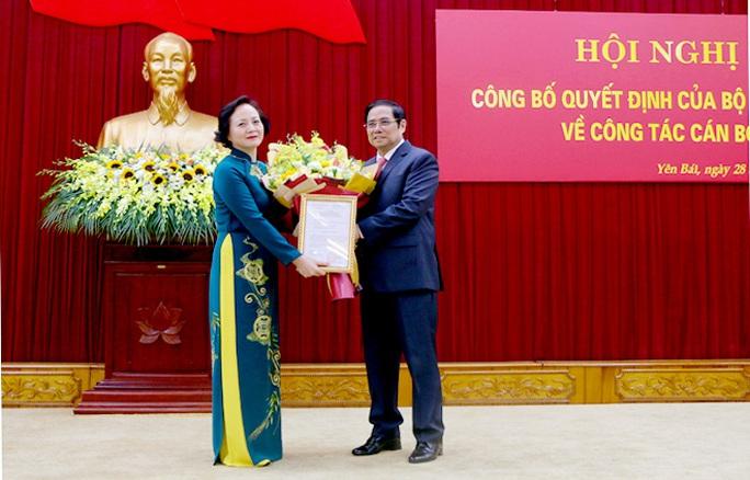 Bà Phạm Thị Thanh Trà làm Phó Trưởng ban Tổ chức Trung ương - Ảnh 1.