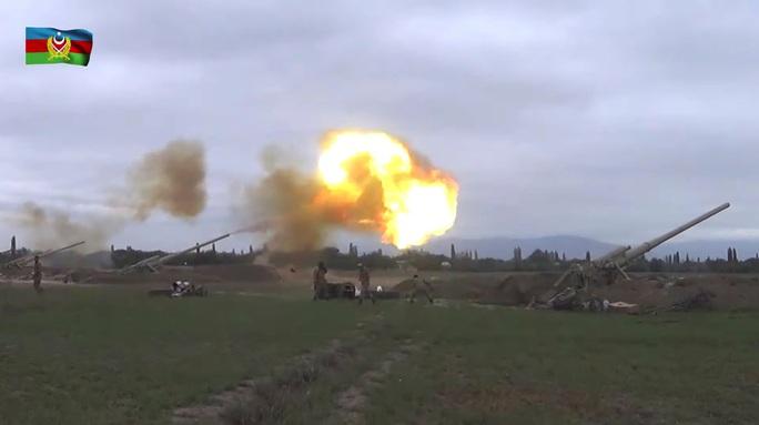 Chiến sự Armenia - Azerbaijan leo thang - Ảnh 1.