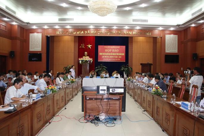 Quảng Nam và Bến Tre tổ chức Đại hội Đảng vào giữa tháng 10 - Ảnh 1.