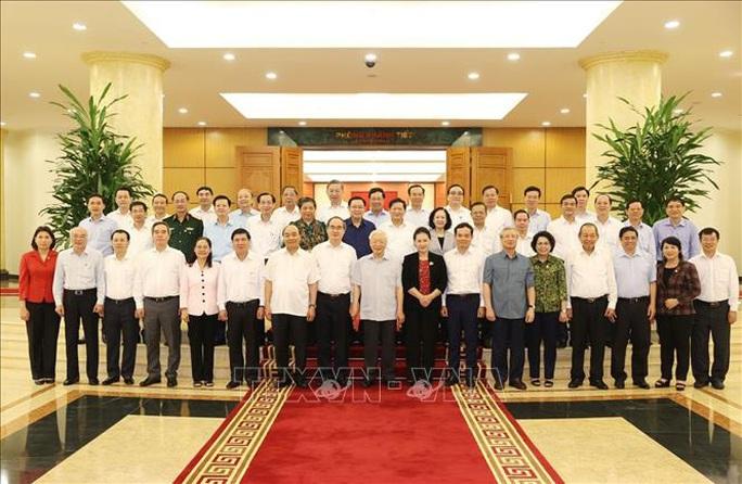 Tổng Bí thư, Chủ tịch nước chủ trì buổi làm việc với Ban Thường vụ Thành ủy TP HCM - Ảnh 1.
