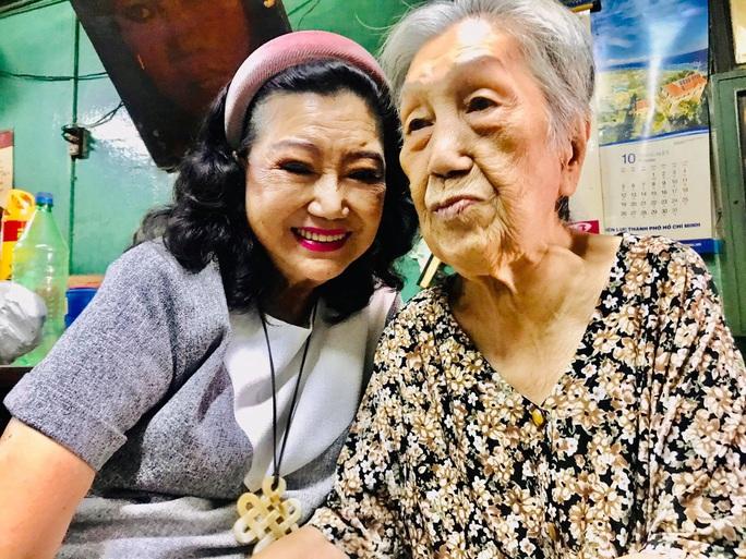 Kỳ nữ Kim Cương hội ngộ các nghệ sĩ thế hệ vàng cải lương - Ảnh 4.