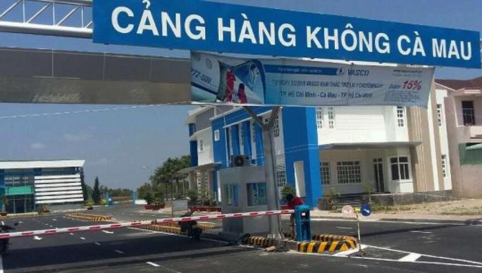 Kiến nghị Bộ Quốc phòng nâng cấp sân bay Cà Mau - Ảnh 1.