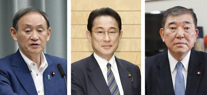 Ứng viên thủ tướng Nhật Bản khổ vì đăng ảnh vợ đeo tạp dề - Ảnh 2.