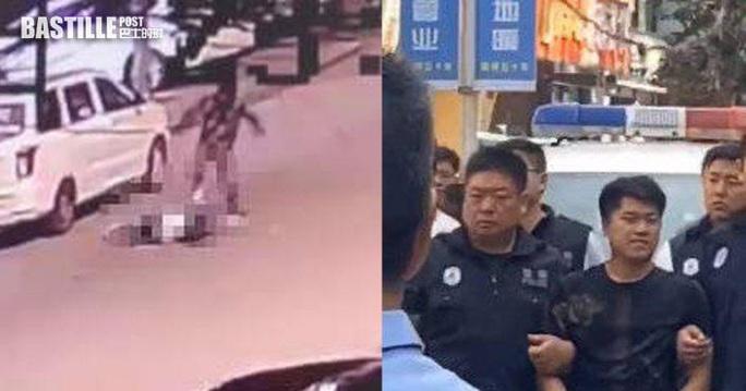 Nam thanh niên giết bạn gái trên đường, hàng chục chiếc xe chạy lướt qua  - Ảnh 1.