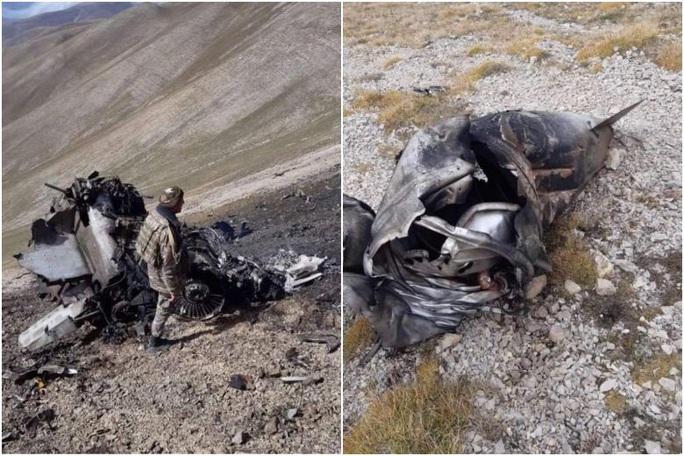 Armenia tung bằng chứng Thổ Nhĩ Kỳ bắn rơi Su-25 - Ảnh 1.