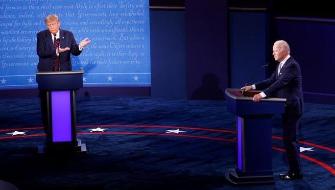 Ai thắng trong cuộc tranh luận đầu tiên, ông Trump hay ông Biden? - Ảnh 1.