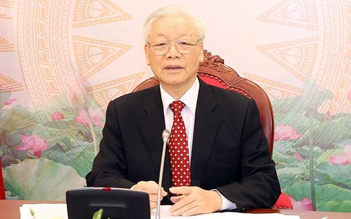 Tổng Bí thư, Chủ tịch nước Nguyễn Phú Trọng điện đàm với Tổng Bí thư, Chủ tịch nước Trung Quốc Tập Cận Bình - Ảnh 2.