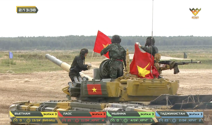 Xe tăng Việt Nam vô địch Tank Biathlon tại Army Games 2020 - Ảnh 6.