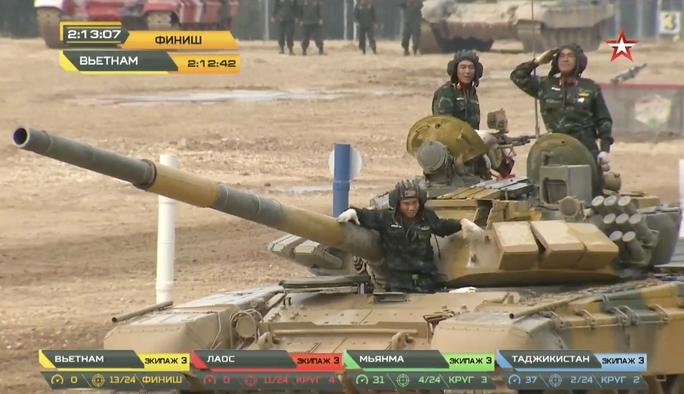 Xe tăng Việt Nam vô địch Tank Biathlon tại Army Games 2020 - Ảnh 5.