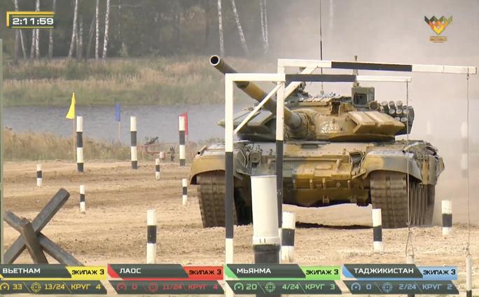 Xe tăng Việt Nam vô địch Tank Biathlon tại Army Games 2020 - Ảnh 1.