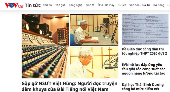 Đài Tiếng nói Việt Nam có bộ nhận diện mới và VOVlive - Ảnh 2.
