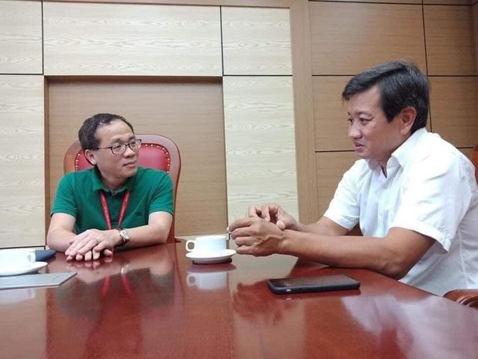 Hiệu trưởng ĐH Y Hà Nội nói gì với ông Đoàn Ngọc Hải sau hành trình 600 km trở về từ Hà Giang? - Ảnh 1.