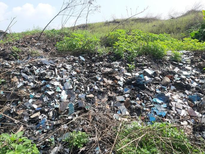 CLIP: Cận cảnh núi rác khổng lồ bị bỏ quên nhiều năm ở TP Vinh - Ảnh 3.